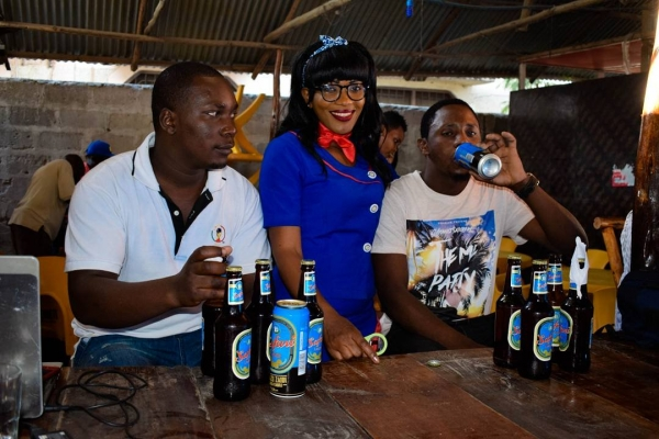 Maisha ni Safari Bar Activations
