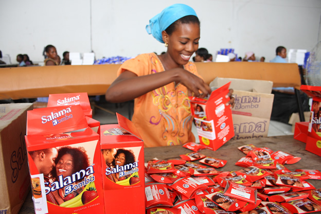 Trade Activation and Distribution of Salama Condoms - Fern Tanzania
