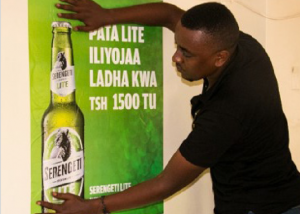 Serengeti Lite Distribution and Listing Campaign - Fern Tanzania
