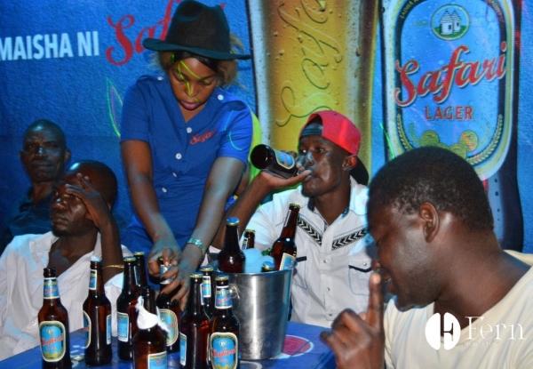 Maisha ni Safari Bar Activations ( 375mls Safari Lager ) - Fern Tanzania