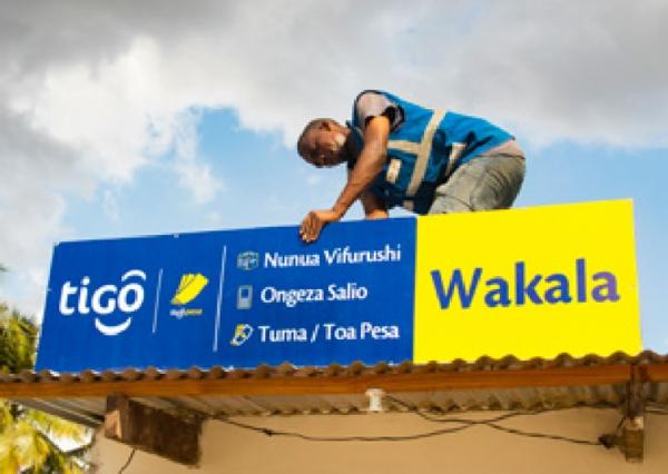 Fern Tanzania TIGO POS Branding