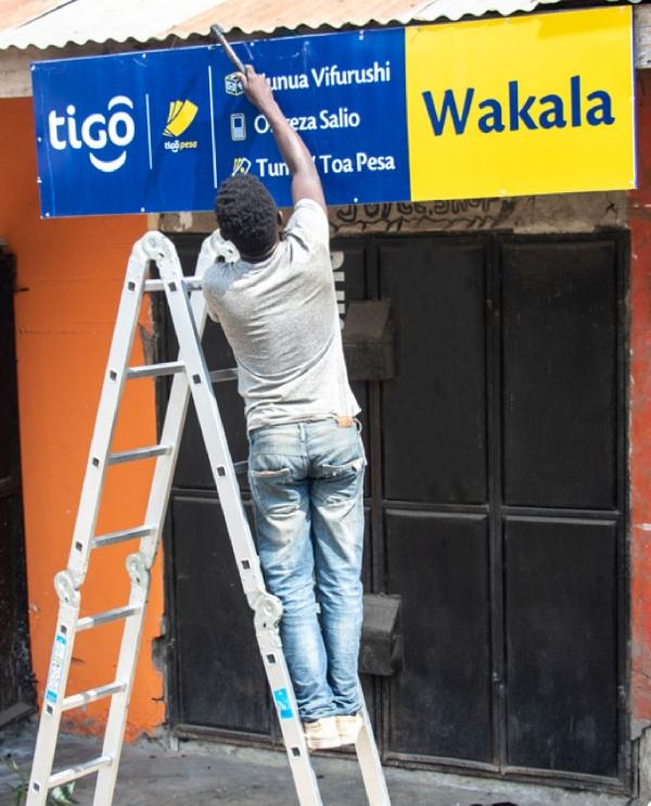 TIGO POS Retail recruitment and Branding - Fern Tanzania