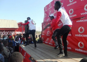 Vodacom Mega device sales exhibition event - Fern (T) Tanzania
