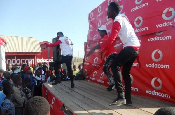 Vodacom Mega device sales exhibition event - Fern (T) Tanzania